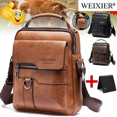 genuine leather, Shoulder Bags, Fashion, business bag