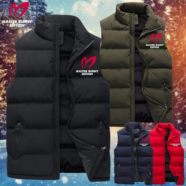 Vest, menzipperjacket, Coat, Winter
