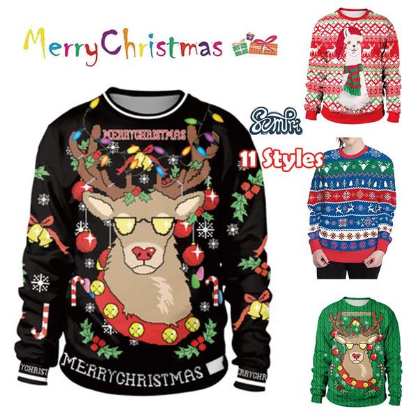 Fashion, Christmas, Gifts, Long Sleeve