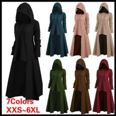 GOTHIC DRESS, Fashion, solidcolordre, Vintage Dresses