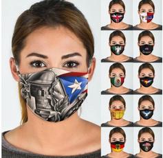Fashion, flagmask, americanflagmask, washablemask