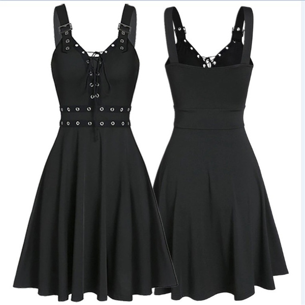 Goth, Plus Size, Dress, punk