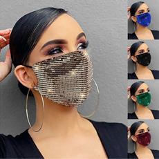 Fashion, dustmask, Jewelry, sequinsmask
