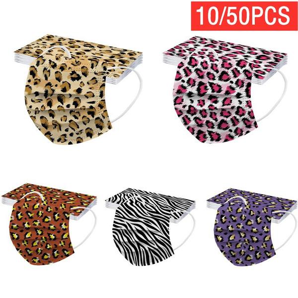 dustproofmask, Elastic, leopardprinted, unisexmask