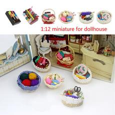 112miniature, Mini, 112woolball, dollhouseaccessorie