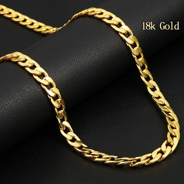 Jewelry, Chain Necklace, 18k gold, Chain