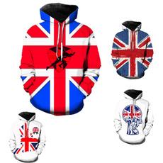 autumnandwintersweater, Fashion, Cotton, nationalflagprintedsweater