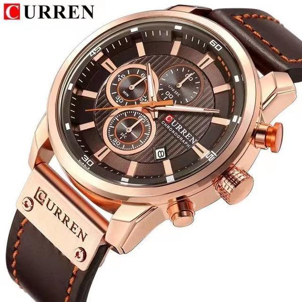 quartz, fashion watches, Men, Watch