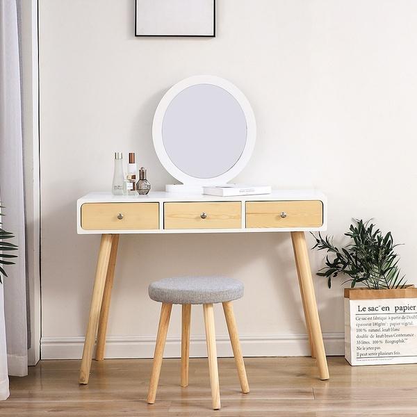 wooddesk, solidwoodtable, Makeup, makeupdesk