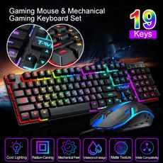 rainbow, gamingkeyboard, clavier, pcgaming
