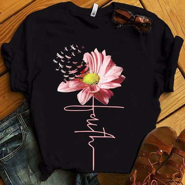 pink, dragon fly, Flowers, Christian