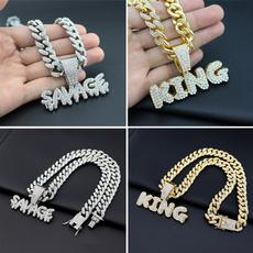 Bling, Chain, Men, Rhinestone