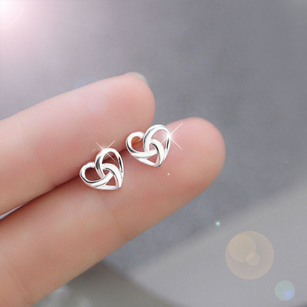Heart, DIAMOND, Jewelry, 925