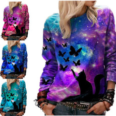 butterflyprint, butterfly, Fashion, Long Sleeve