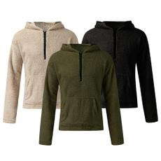 fur coat, hooded, velvet, Winter