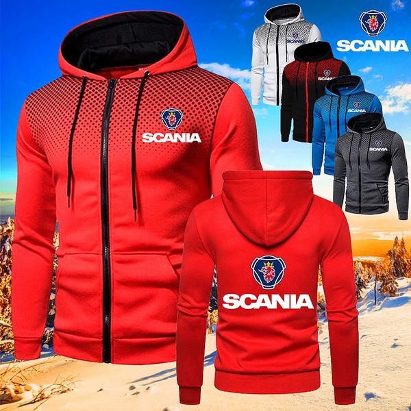 Casual Jackets, Outdoor, scania, zipperjacket