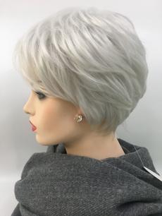 wig, platinum, hairstyle, Shorts