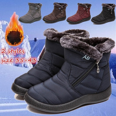 furboot, ankle boots, cottonshoe, Winter