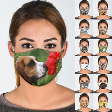 cute, Polyester, Outdoor, mouthmask