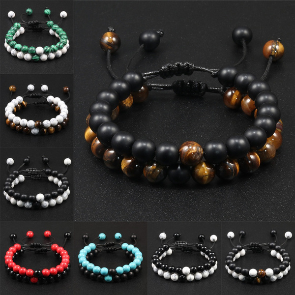 Charm Bracelet, Beaded Bracelets, bestfriendbracelet, distancebracelet