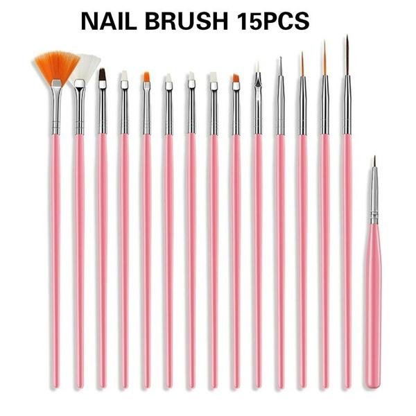 nailbrushset, art, nailpaintingpen, Beauty