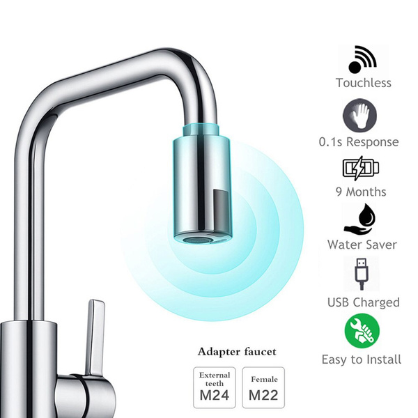 touchlessfaucetadapter, Bathroom, touchlesssprayhead, Home & Living