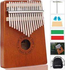 woodenkalimba, Musical Instruments, fingerpiano, Gifts