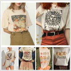 khaki, Shirt, Angel, Vintage
