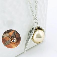 goldensnitchnecklace, Fashion, Magic, Jewelry