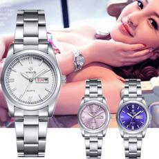 Steel, quartz, Stainless Steel, Clock