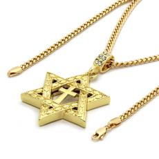 goldplated, Star, Jewelry, starfish