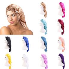 hair, haircarecap, silkbonnet, Elastic