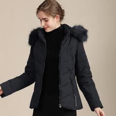 Fashion, Long Sleeve, fur collar, winter fashion