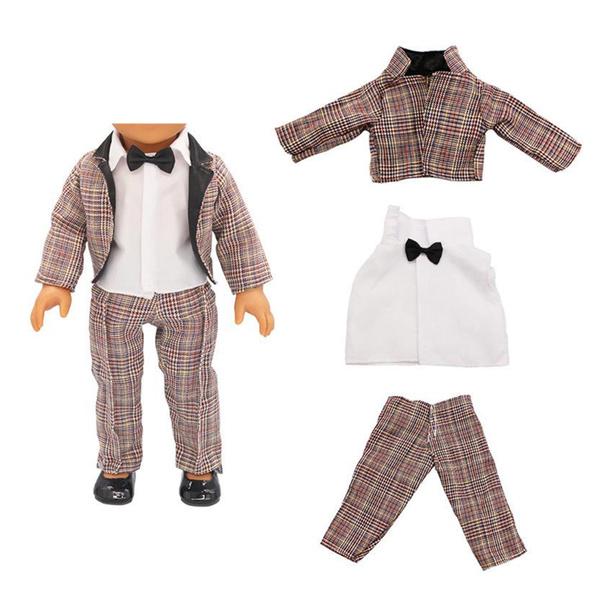 brown, Shirt, doll, dollclothesfashionaccessorie