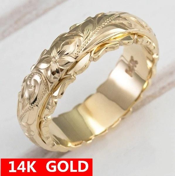 Jewelry, Hawaiian, Bride, gold