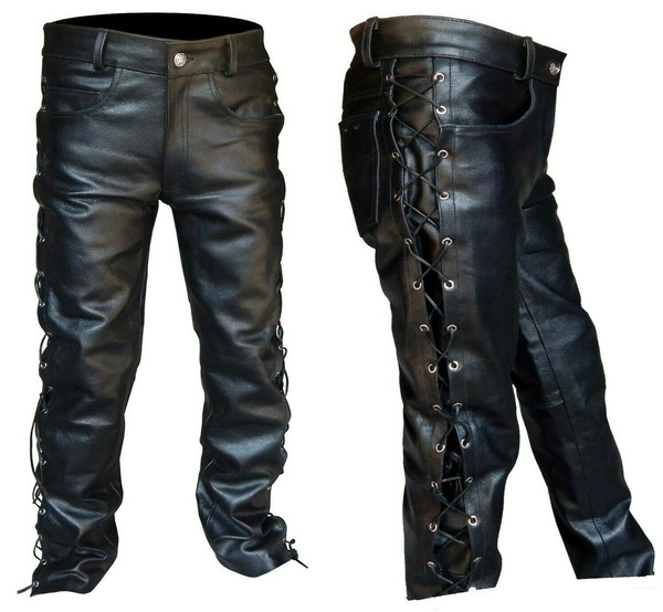 trousers, Gifts For Men, pants, leather