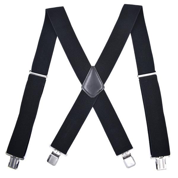 suspenders, Heavy, Adjustable, Elastic