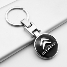 Key Chain, Aluminum, citroen, carkeychain