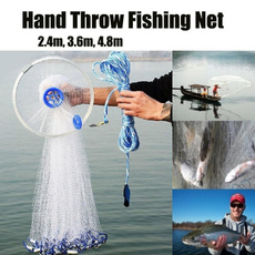 handthrow, netwithfloat, Outdoor, fishinggillnet