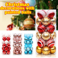 Beautiful, party, Colored, christmasballsornament