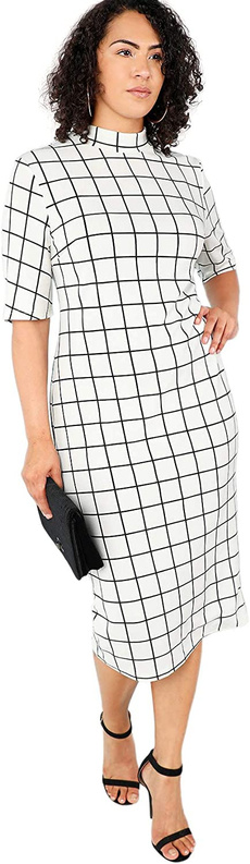 short sleeves, pencil, plus, Shorts