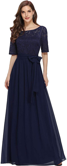 07624, Plus Size, Lace, Dresses