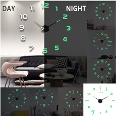 Decor, luminousclock, Clock, Home & Living