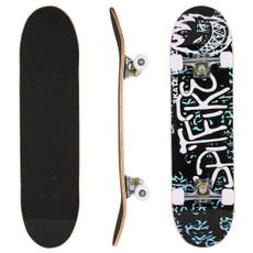 Print, Wood, woodskateboard, Skateboard