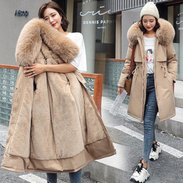 Winter Coat Women, velvet, Winter, Coat