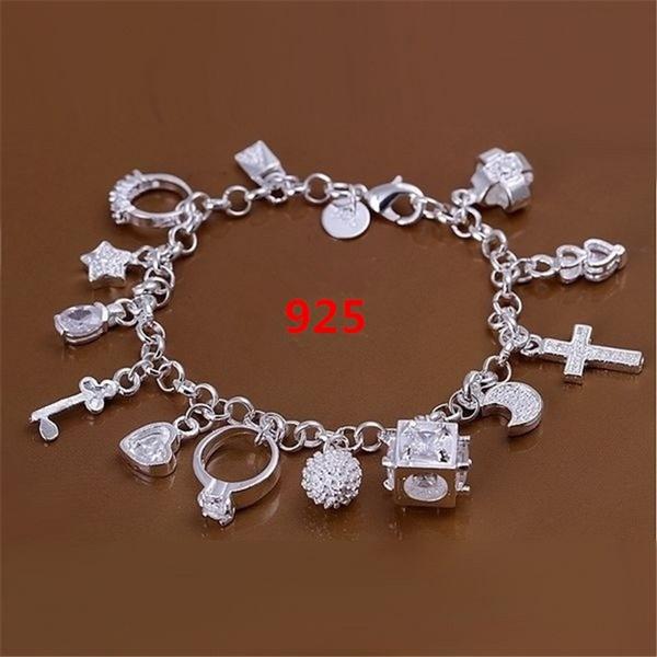 Sterling, wristbandbracelet, Fashion, Jewelry