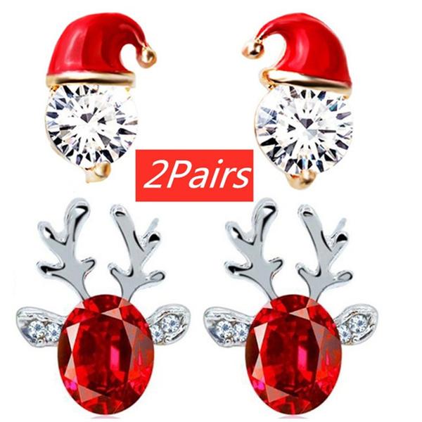 DIAMOND, Stud Earring, Earring, Fashion Accessories