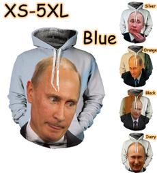 Fashion, Long Sleeve, unisex, vladimirputin
