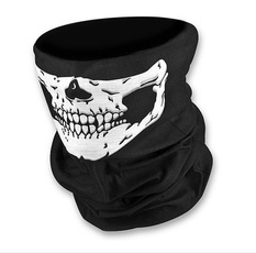 skullbandana, Helmet, Head Bands, Mufflers
