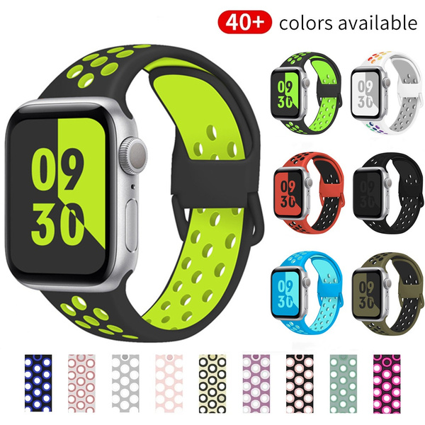 iwatch6siliconeband, Wristbands, iwatchband38mm, Silicone